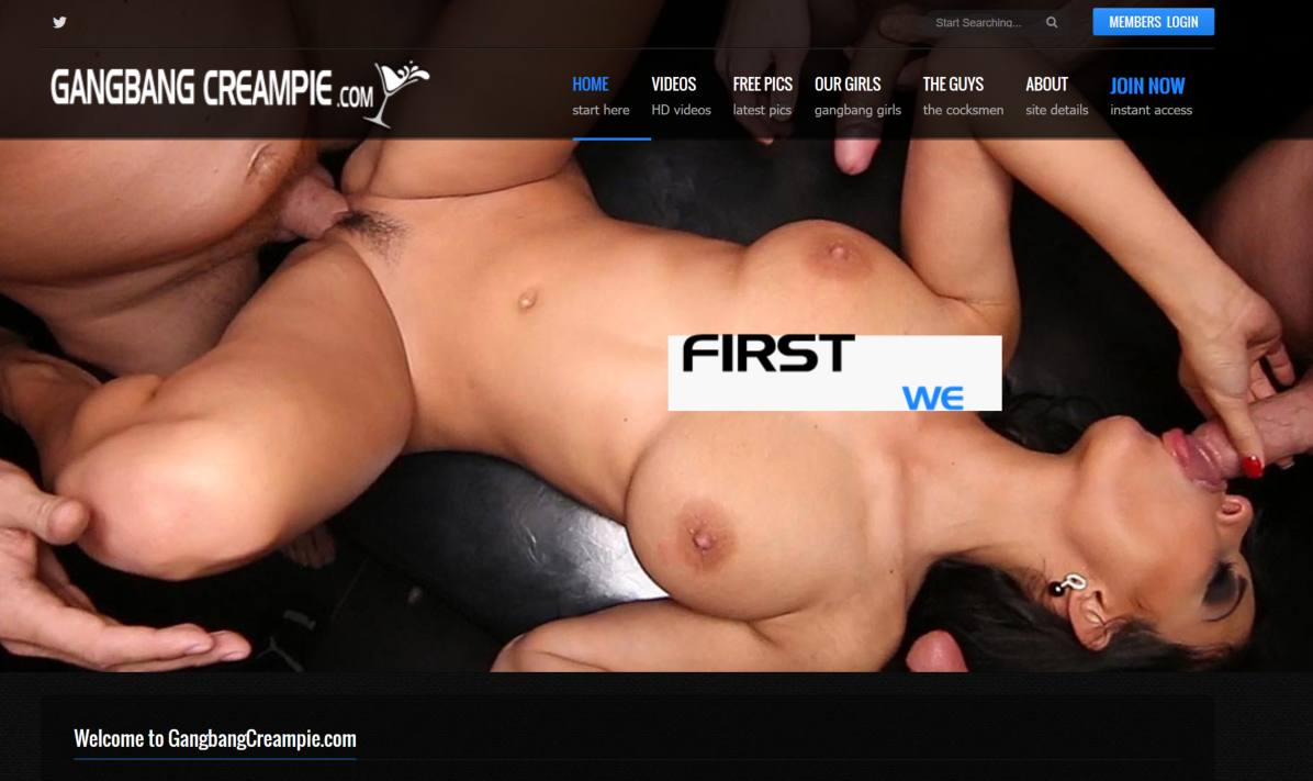 preview image pass  for gangbangcreampie.com