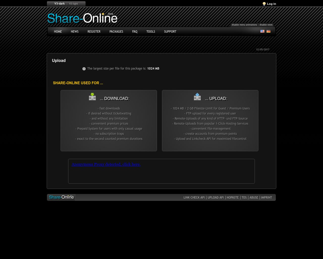 active shared member passwords for share-online [filelocker premium]