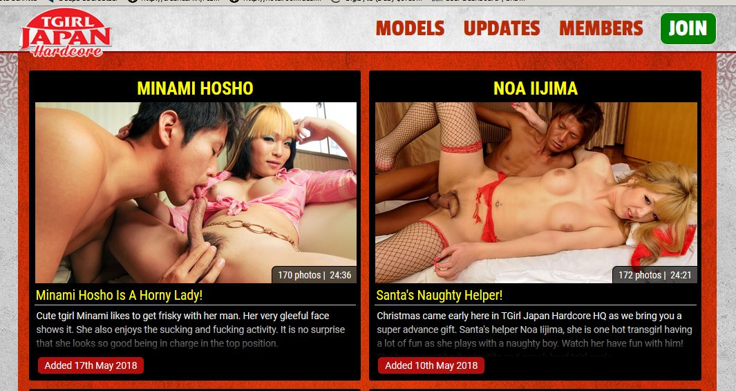 0day shared user/password login for tgirljapanhardcore