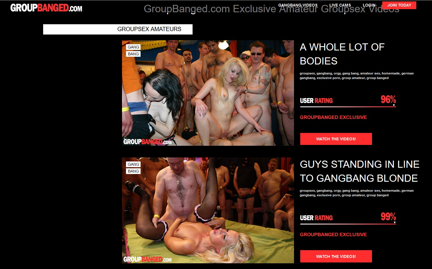 unlimited 0day user and password for groupbanged